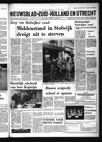 Schoonhovensche Courant 1975-08-20