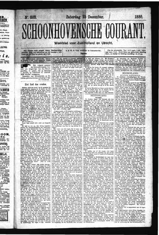 Schoonhovensche Courant 1880-12-25
