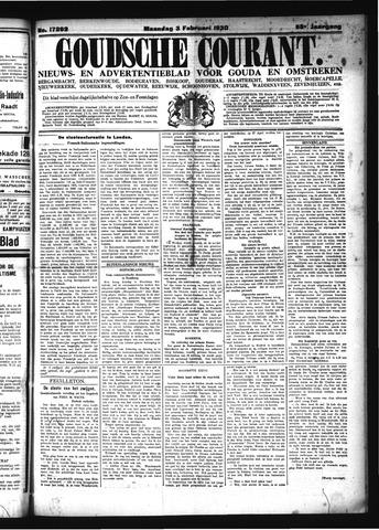 Goudsche Courant 1930-02-03