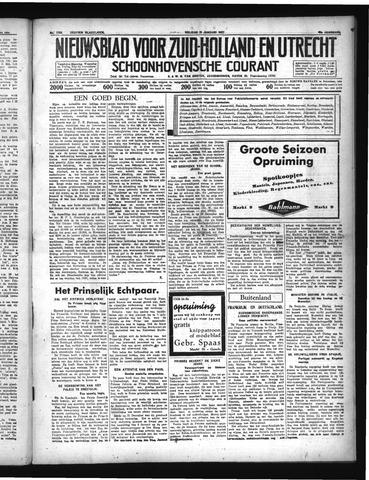 Schoonhovensche Courant 1937-01-15