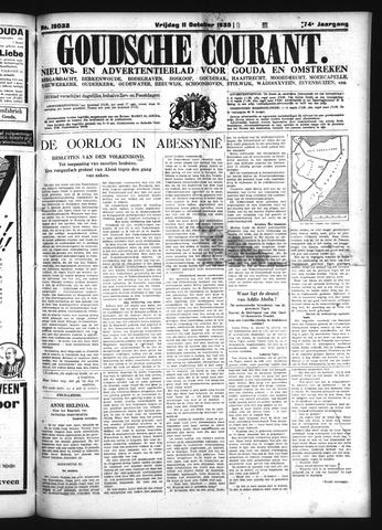 Goudsche Courant 1935-10-11