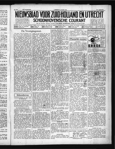Schoonhovensche Courant 1938-03-02