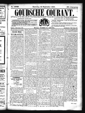 Goudsche Courant 1918-09-14