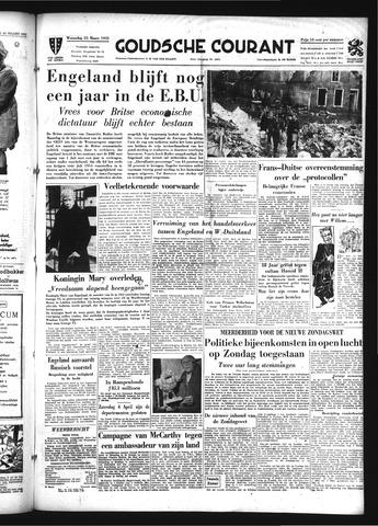 Goudsche Courant 1953-03-25