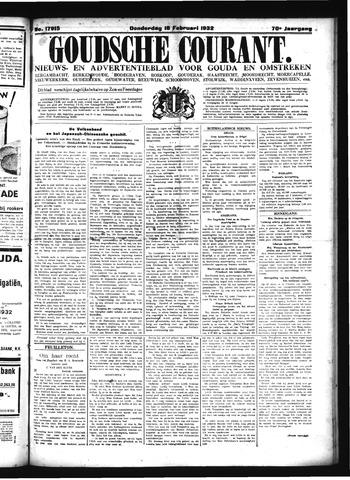Goudsche Courant 1932-02-18