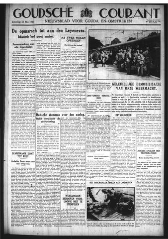 Goudsche Courant 1940-05-25