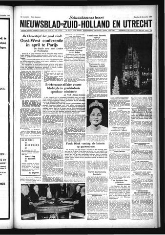 Schoonhovensche Courant 1959-12-21