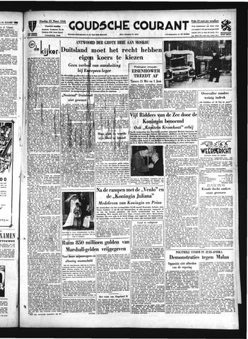 Goudsche Courant 1952-03-25