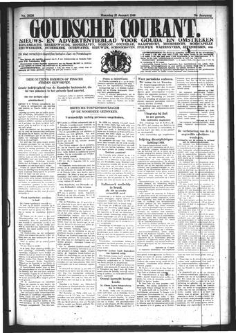 Goudsche Courant 1940-01-22