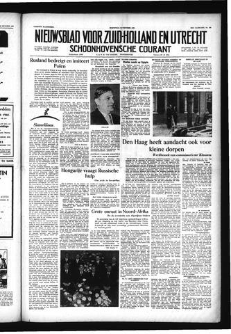 Schoonhovensche Courant 1956-10-24