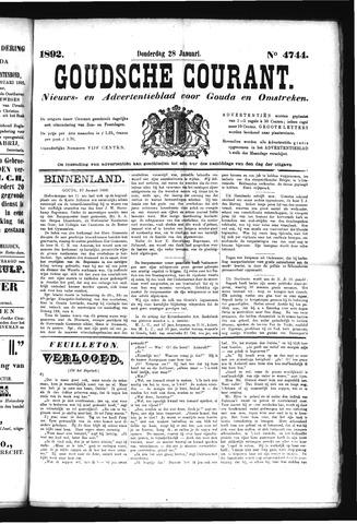 Goudsche Courant 1892-01-28