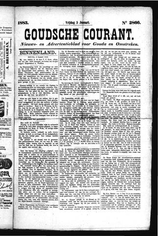 Goudsche Courant 1883-01-05