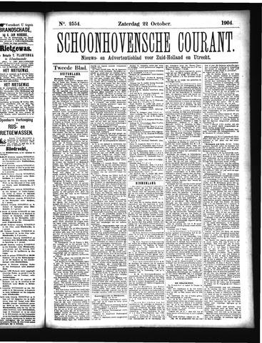 Schoonhovensche Courant 1904-10-22