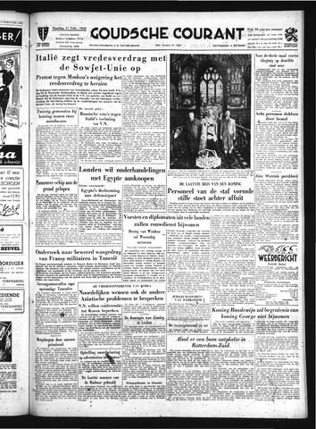 Goudsche Courant 1952-02-11