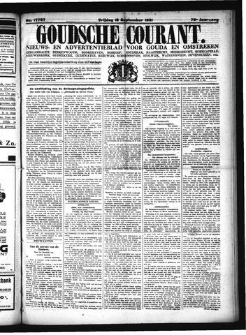 Goudsche Courant 1931-09-18