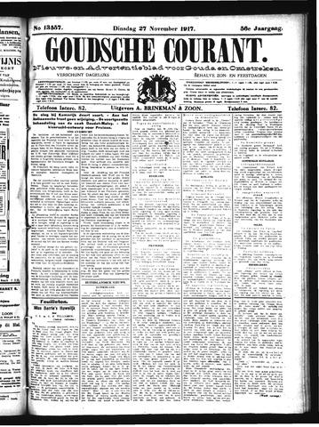 Goudsche Courant 1917-11-27