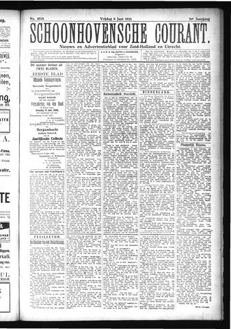 Schoonhovensche Courant 1922-06-09