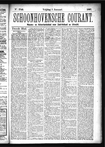 Schoonhovensche Courant 1897-01-05