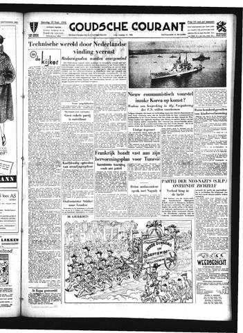 Goudsche Courant 1952-09-13