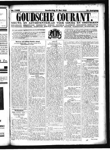 Goudsche Courant 1932-05-19