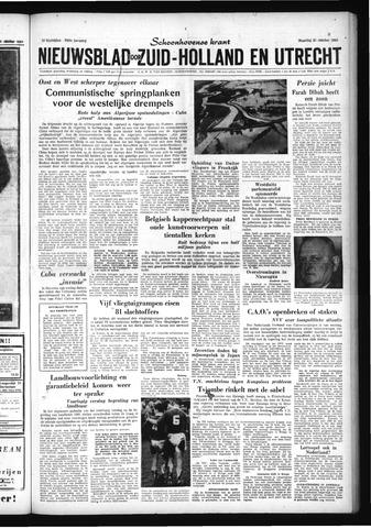 Schoonhovensche Courant 1960-10-31
