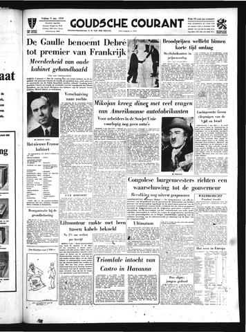 Goudsche Courant 1959-01-09