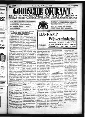 Goudsche Courant 1935-01-17