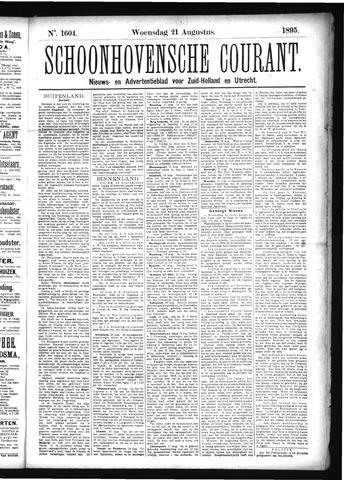Schoonhovensche Courant 1895-08-21
