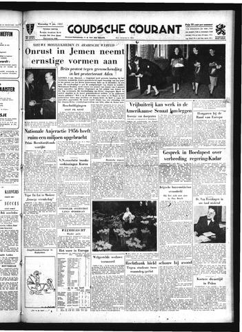 Goudsche Courant 1957-01-09
