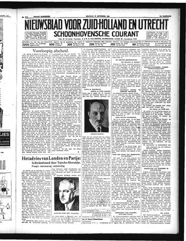 Schoonhovensche Courant 1938-09-19