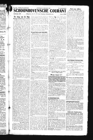 Schoonhovensche Courant 1945-03-20