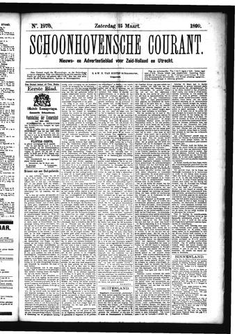 Schoonhovensche Courant 1899-03-25