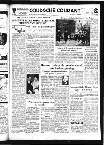 Goudsche Courant 1950-10-25