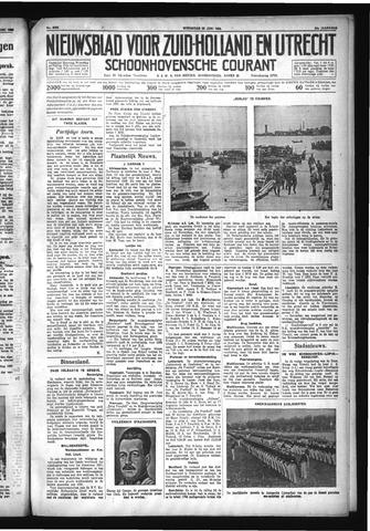 Schoonhovensche Courant 1932-06-22