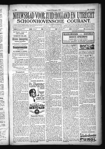 Schoonhovensche Courant 1928-12-14