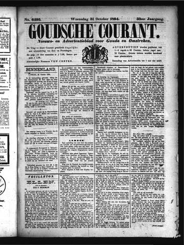 Goudsche Courant 1894-10-31