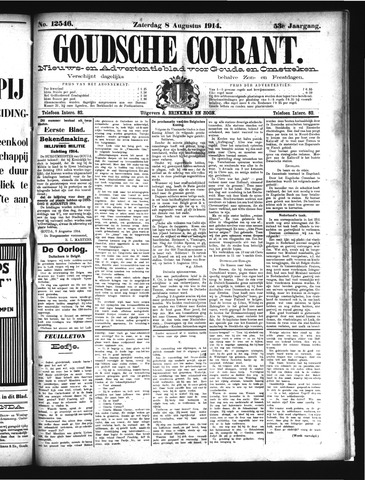 Goudsche Courant 1914-08-08