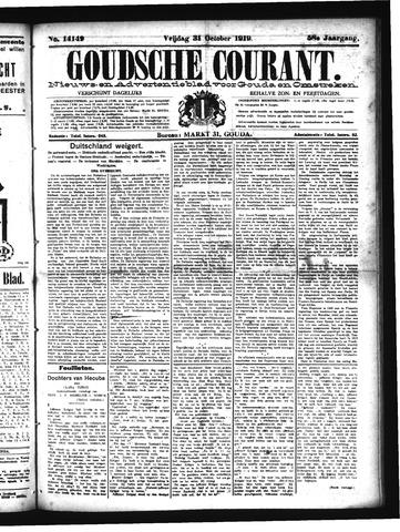 Goudsche Courant 1919-10-31
