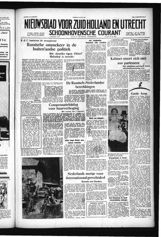 Schoonhovensche Courant 1957-07-12