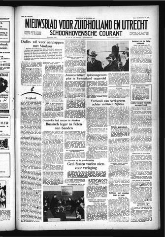 Schoonhovensche Courant 1956-12-19