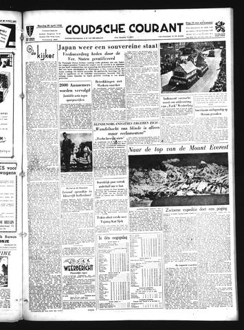 Goudsche Courant 1952-04-28
