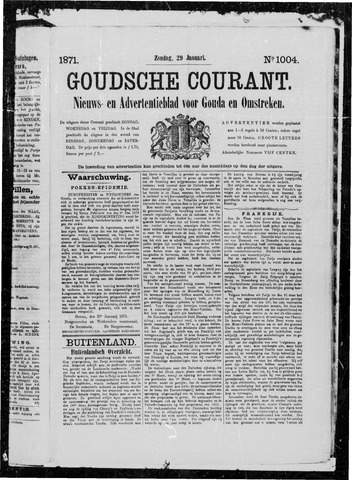 Goudsche Courant 1871-01-29