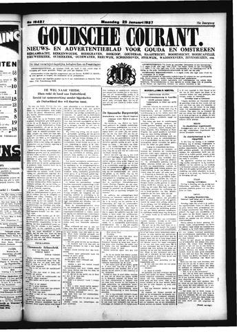 Goudsche Courant 1937-01-25