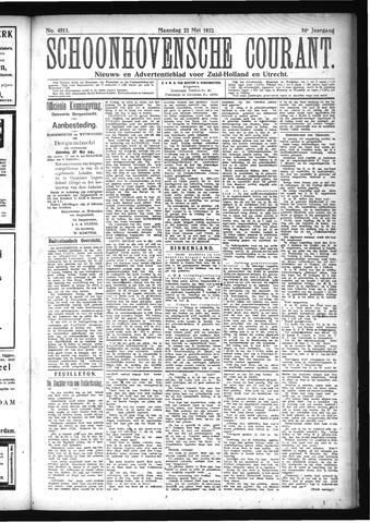 Schoonhovensche Courant 1922-05-22