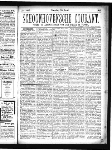 Schoonhovensche Courant 1917-06-19