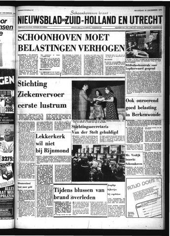 Schoonhovensche Courant 1974-12-16