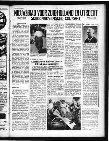 Schoonhovensche Courant 1950-07-28