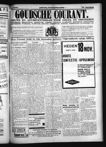 Goudsche Courant 1933-11-18