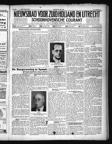 Schoonhovensche Courant 1936-07-27