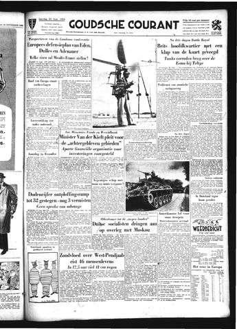 Goudsche Courant 1954-09-25